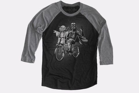 Yoda and Darth Vader t-shirt
