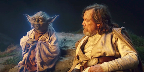 Image result for The last jedi Yoda