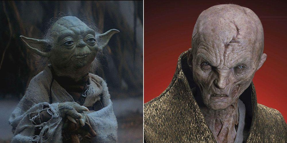 'Star Wars': la sorprendente conexión entre Yoda y Snoke