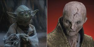 Star Wars Yoda Snoke