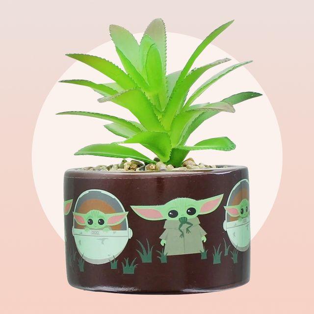 star wars the mandalorian the child mini planter