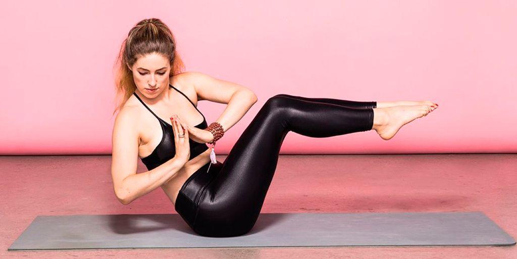 Ejercicios de yoga para trabajar los abdominales
