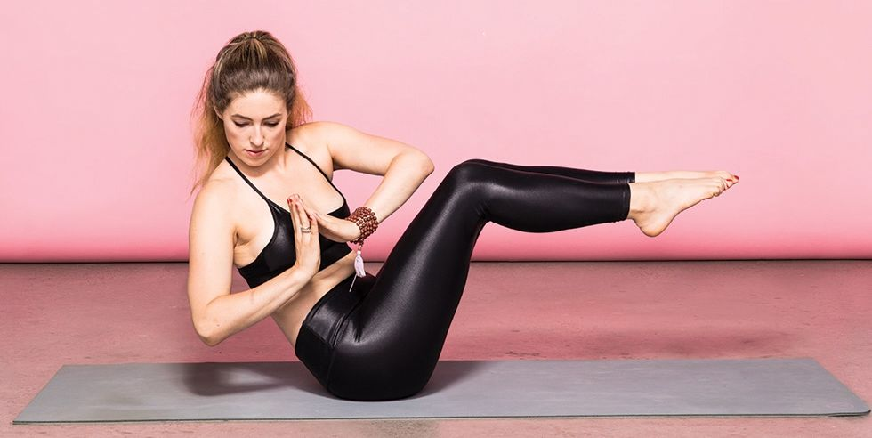 17 Yoga Moves That Will Help You Sculpt Serious Abs
