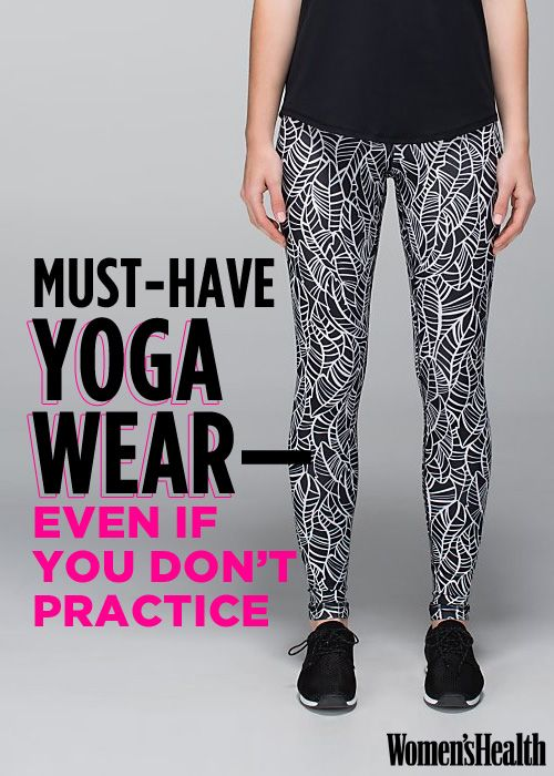 13 Pieces of Yoga Apparel You'll Love Wearing—Even If You Don't Practice Yoga