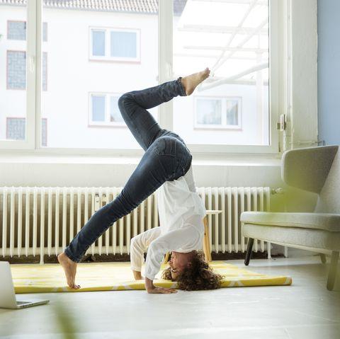 yoga challenge in tijden van corona