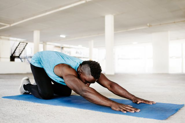 yoga happens anywhere, anytime