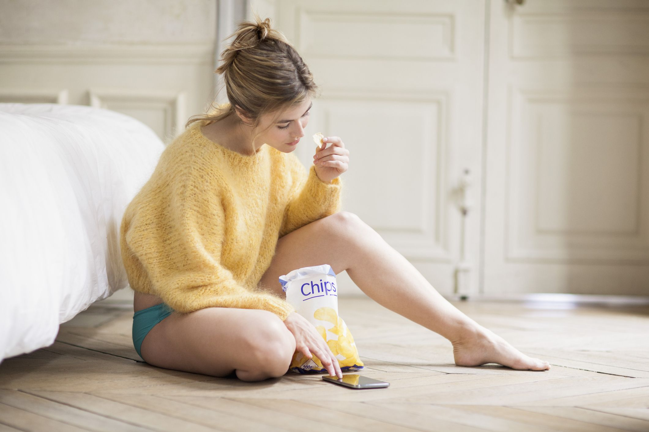 Doing this one thing could help stop mindless snacking and emotional eating