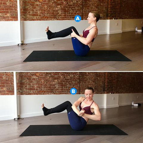 7 yoga poses that will sculpt your side abs  prevention