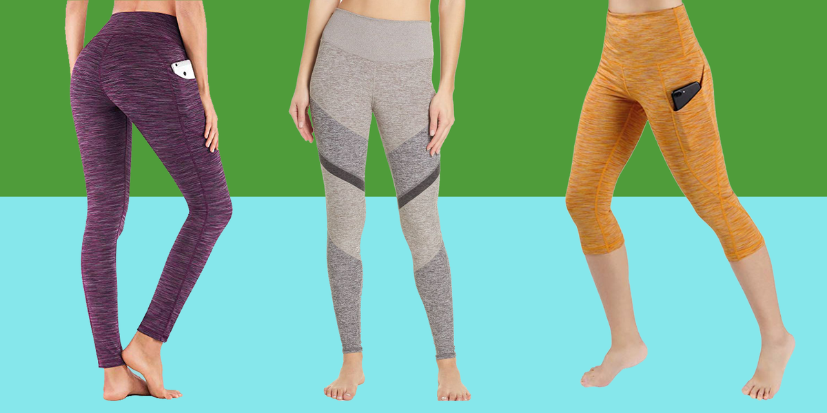 30dd5c196096a 20 Best Leggings and Yoga Pants With Pockets 2019 - Workout Leggings With  Side Pockets