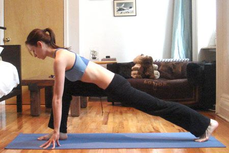 Low lunge (anjaneyasana) (A)