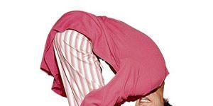 Waking Up Yoga: Woman doing yoga pose