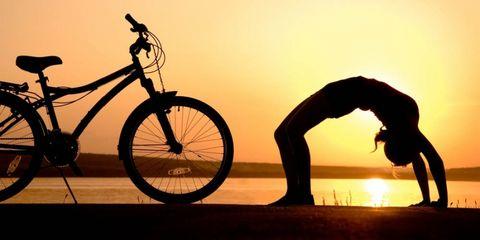 yoga-wielrenners