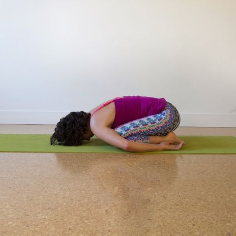 5 gentle yoga poses to relax your tight shoulders  prevention