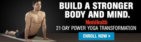 Mens Health 21 Day Yoga Transformation
