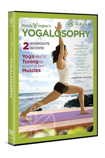 Best Workout DVDs - Yogalosophy
