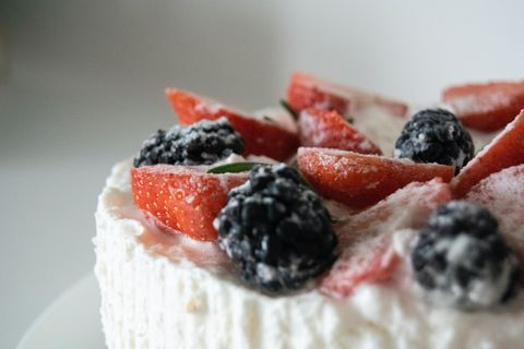 frozen yoghurt bars fruit