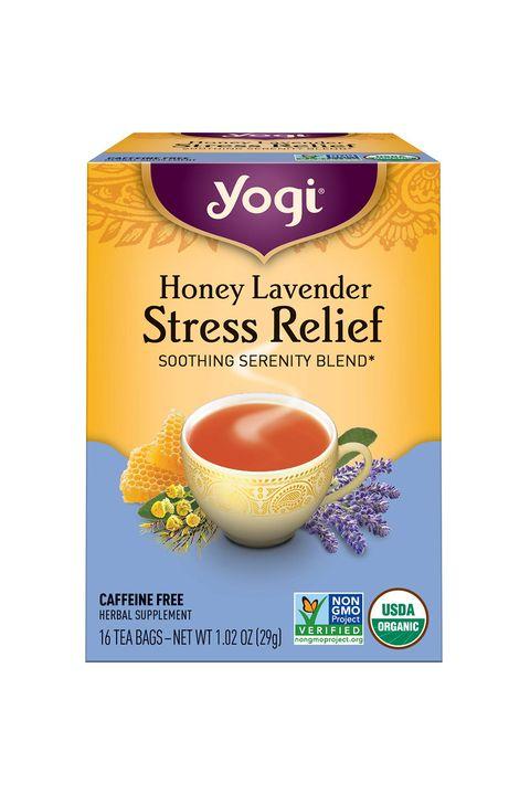 yogi tea honey lavender stress relief soothing serenity blend