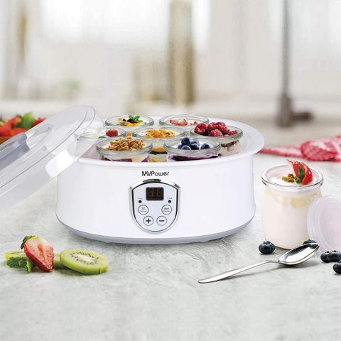 Yogurtera con termostato ajustable MV Power en Amazon.es