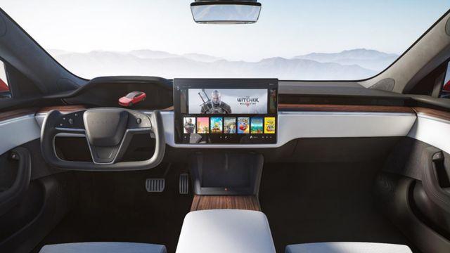 2021 tesla model s interior