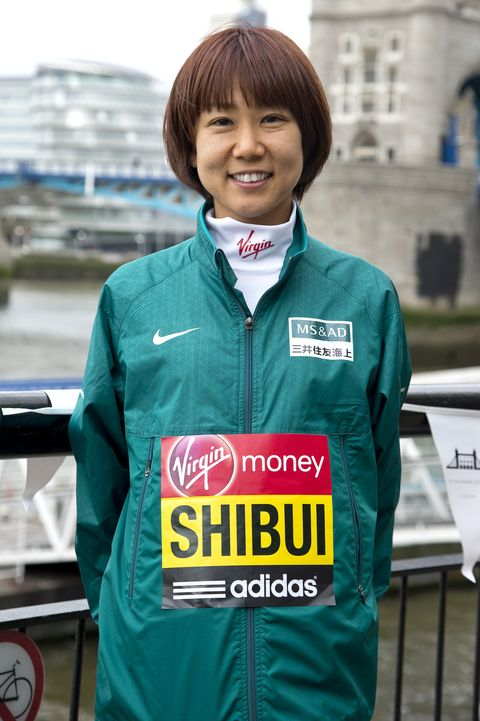 London Marathon - International Women - Photocall 渋井陽子