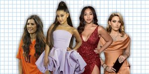 Paris Jackson, Ariana Grande, Yolanthe Sneijder-Cabau en Jordyn Woods