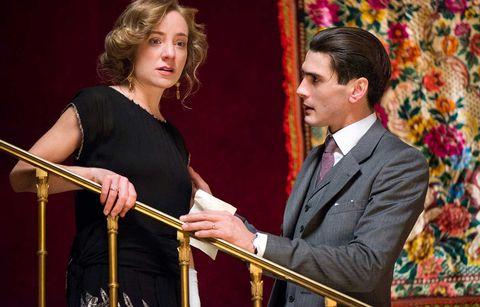 Yo González y Ángela Cremonte, que interpretan a un matrimonioen 'Las chicas del cable', han roto su relación
