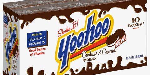Yoo-hoo Has Brought Back Its Cookies & Cream Drink, and It's Like Drinking Oreos