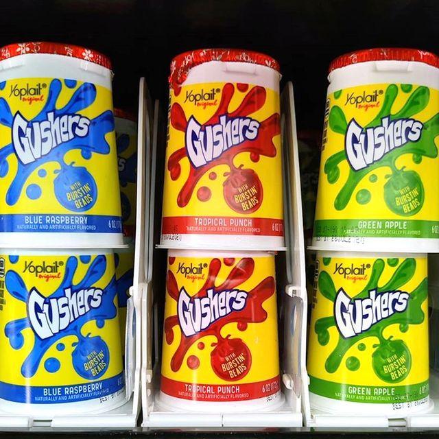 yoplait gushers yogurt