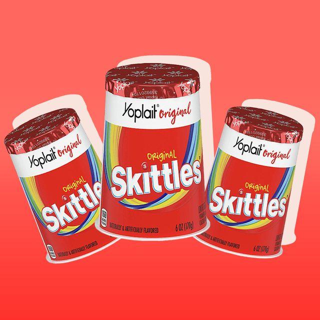 yoplait yogurt skittles flavored