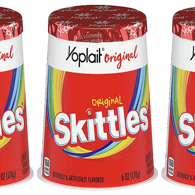 yoplait skittles original yogurt