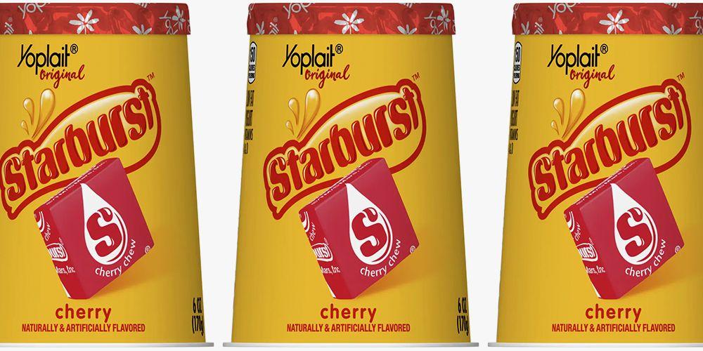 Yoplait Just Released Starburst-Flavored Yogurt, So Is It Snack Time Yet?