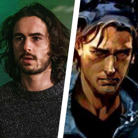 y the last man cast vs comics