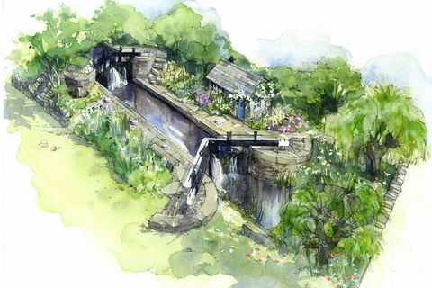 Chelsea Flower Show Welcome to Yorkshire garden