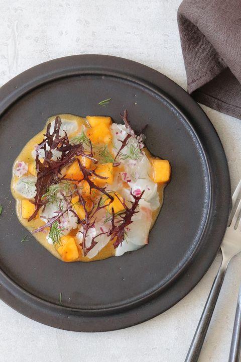 Dish, Cuisine, Food, Ingredient, Recipe, Produce, Brunch, Acorn squash, Ceviche,