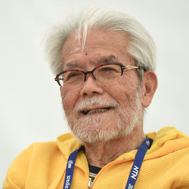 yoshizo shimano at the tour of japan bike race in 2018