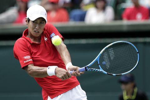Japan v Bosnia & Herzegovina - Davis Cup World Group Play-Off - Day 3