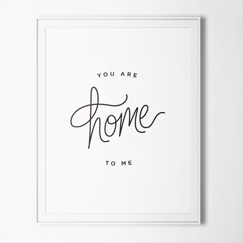 you are home printable mothers day card