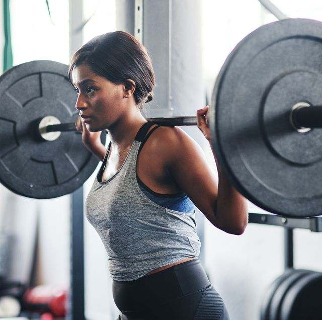 lifting weights bulky