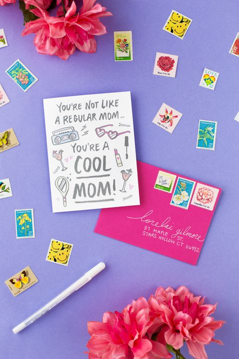 you're a cool mom diy mother's day cards
