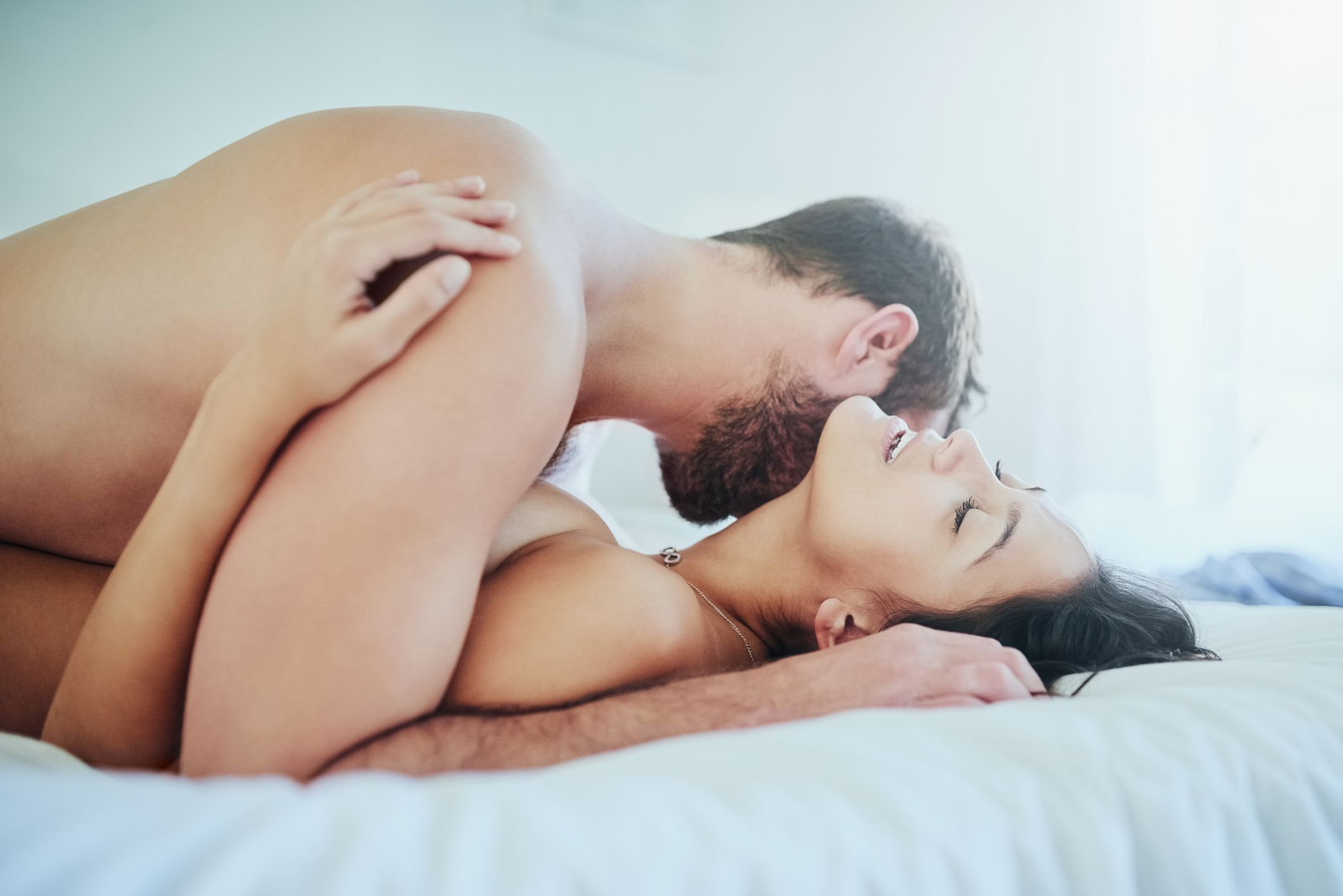The Spread Eagle Sex Position Is Great for Going Deep. Here's How to Do It.