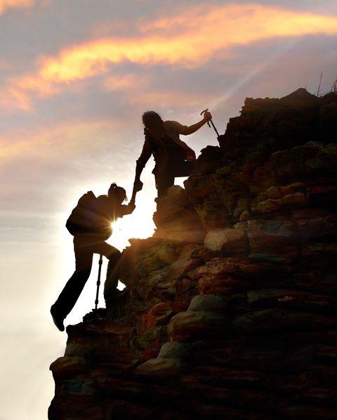 escalar, aventura