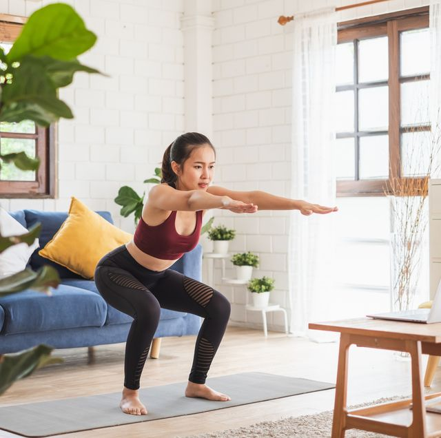 plan de entrenamiento de cuatro semanas en casa