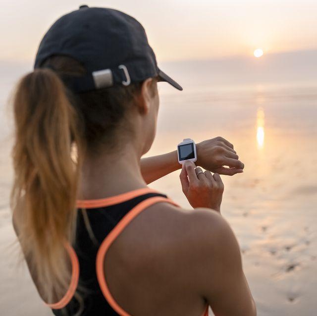 hardlopen vrouw sporthorloge hardloophorloge sporten