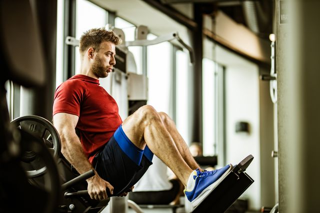 entrenamiento de piernas