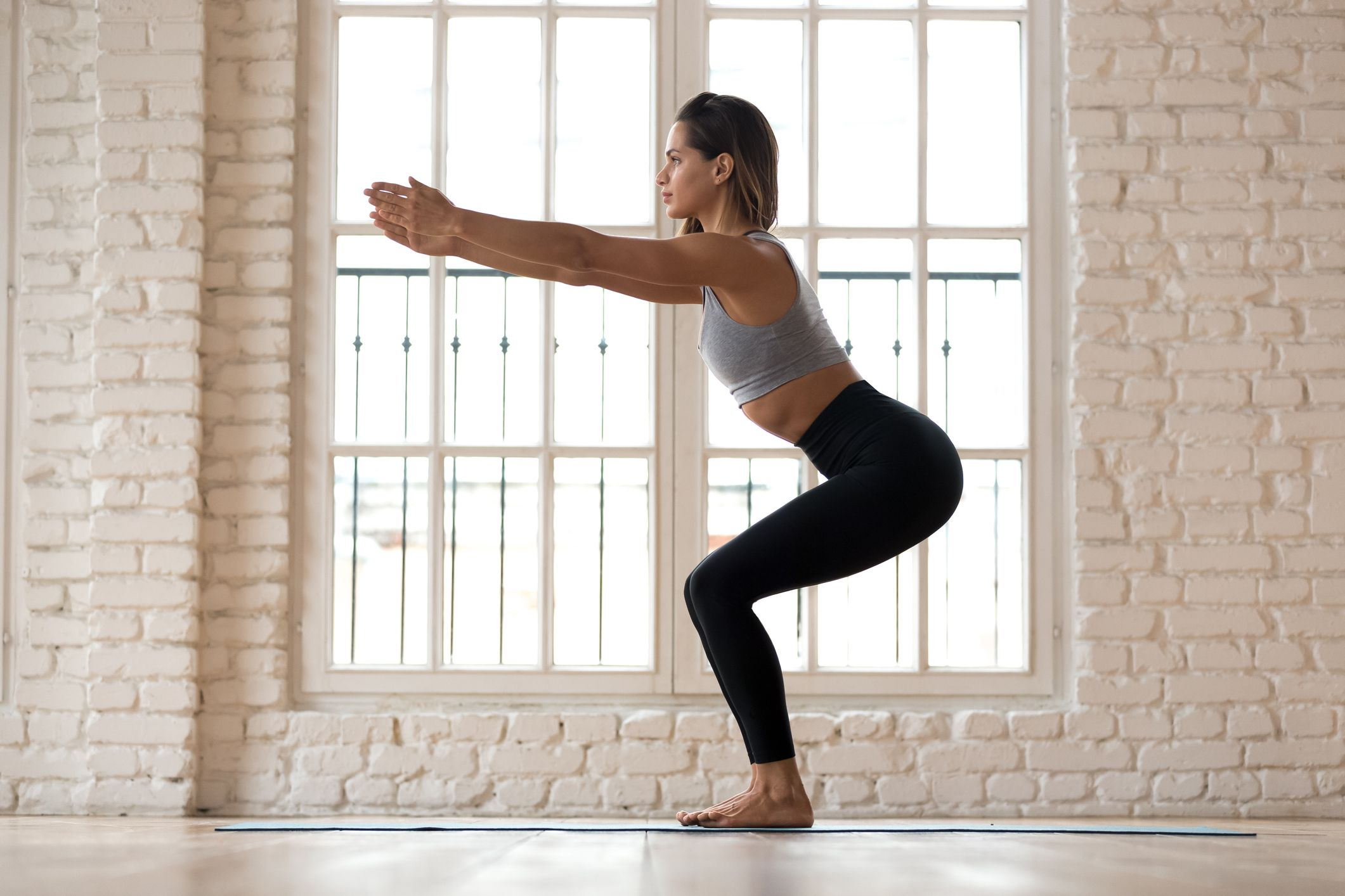 Try this no-equipment lower-body strength workout