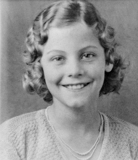 Actress Ava Gardner as a Girl
