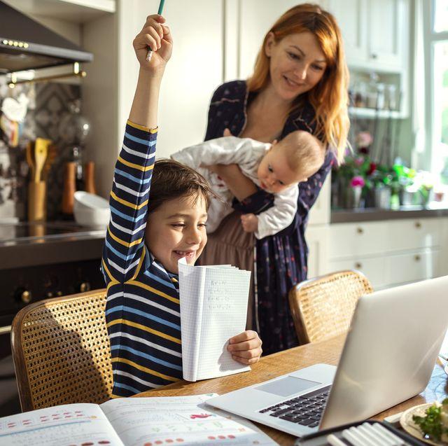 quarantine parenting style family