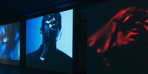 Young Fathers Veuve Clicquot Widow Series curated by Tom Hingston