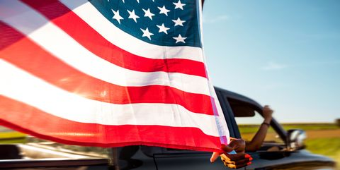 How to Display the American Flag Correctly on Your Car or Motorcycle