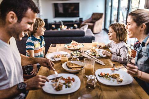 sugerencias menú para cenas para toda la familia